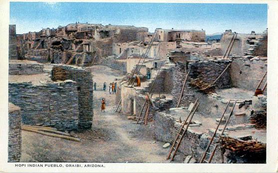 Hopi-pueblo