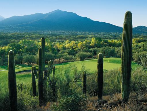Rancho Manana Golf Club Hole 3 Black Mountain View