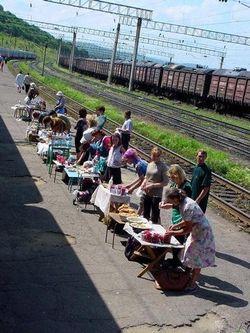 Trans-Siberian-vendors