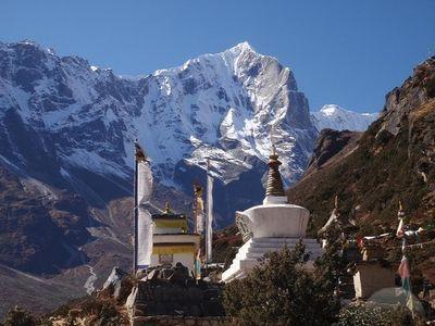 Stupa-in-thame-nepal