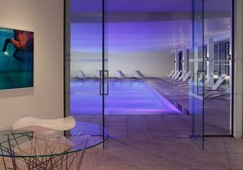 The Spa at Coworth Park Swimming Pool Entrance (HIGH RES - LANDSCAPE)