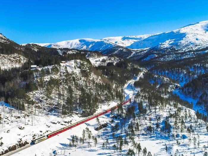 Bergen line Norway