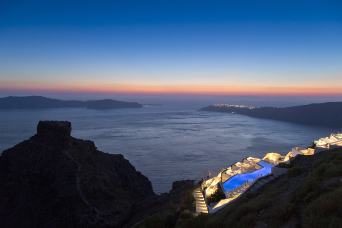 Grace Santorini at Sunset