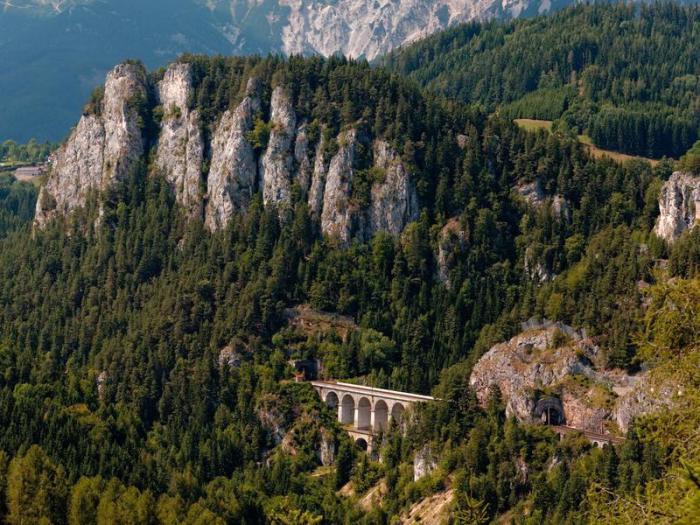 Semmering Bahn Austria